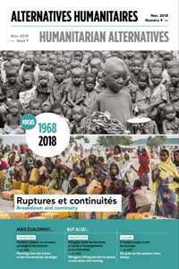 Alternatives humanitaires N°9 Novembre 2018