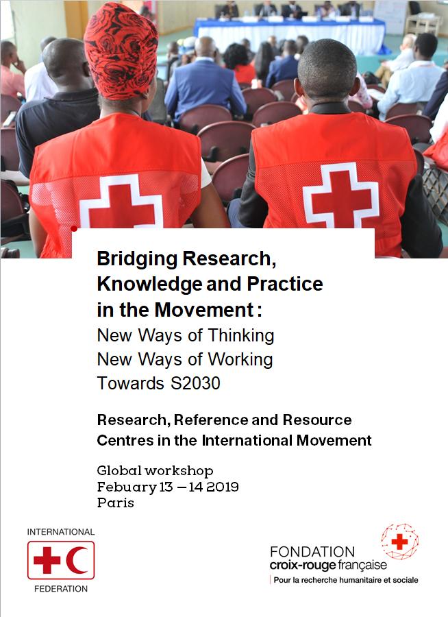 Fondation Croix-Rouge française Global Workshop Poster