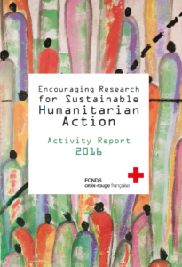 French Red Cross Fund - Activity Report 2016